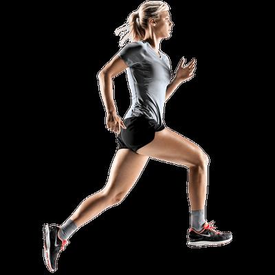 Running Woman transparent PNG - StickPNG