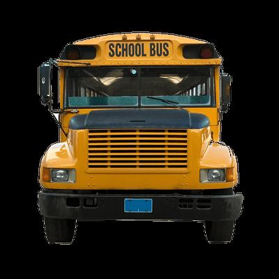 Front School Bus transparent PNG - StickPNG