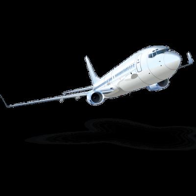 Taking Off Plane Transparent PNG