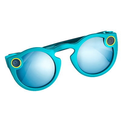 d42481bfbd4 Snapchat Spectacles Blue transparent PNG - StickPNG