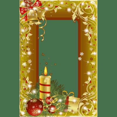 Finest Christmas Photo Frame Mistletoe transparent PNG - StickPNG YW68