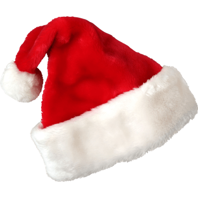 Christmas Santa Claus Hat Red White transparent PNG - StickPNG
