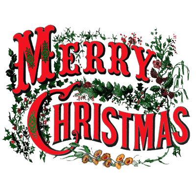 merry christmas vintage circus style transparent png stickpng