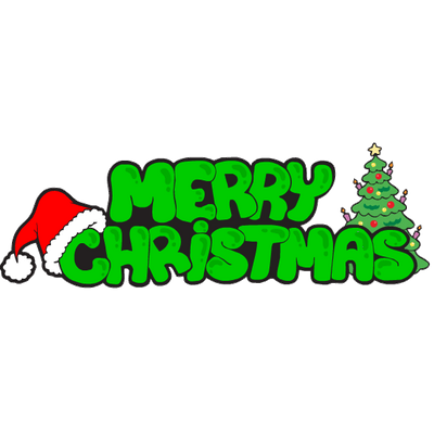 Merry Christmas Party Sign transparent PNG - StickPNG