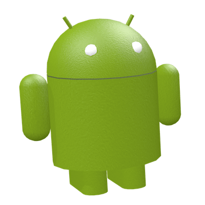 Android Toy Green