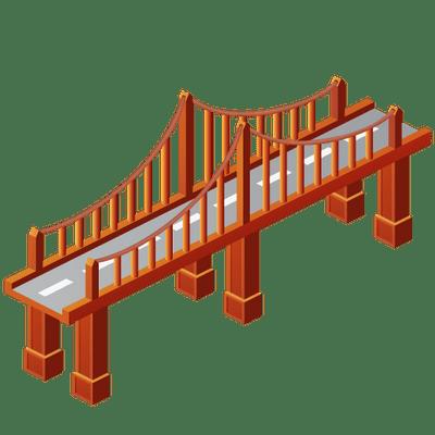 Bridge Clipart transparent PNG - StickPNG