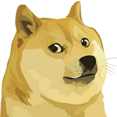 doge head right transparent png stickpng