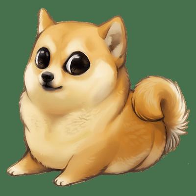 Doge Chibi Shibi Transparent Png Stickpng