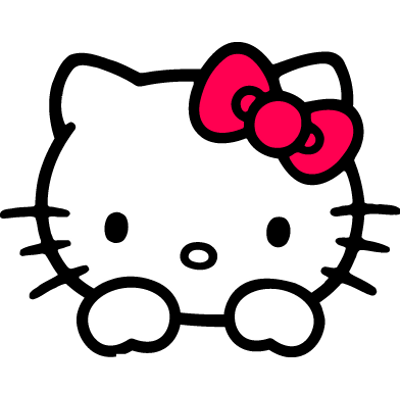 Hello kitty head png