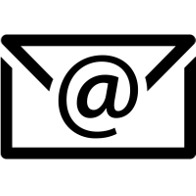 Image result for email icon black and white