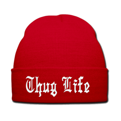 Thug Life Obey Hat transparent PNG - StickPNG