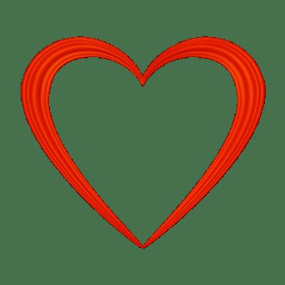 Heart Outline Love Symbol