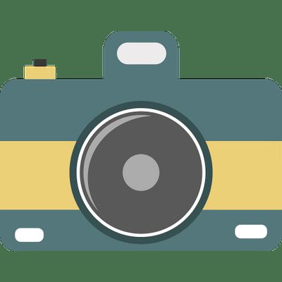 Camera Icon Retro