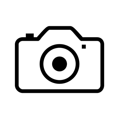 Camera Icon Thin Line