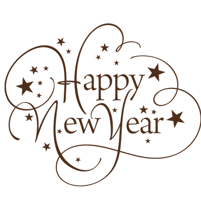 Happy New Year Transparent Background 8