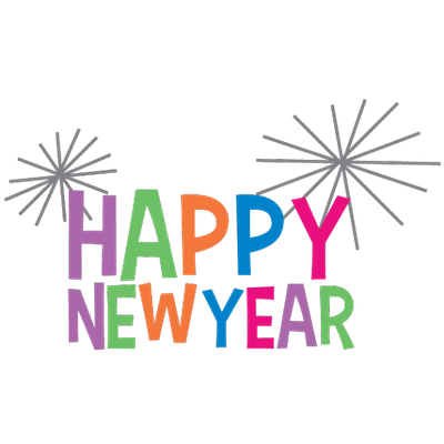 happy new year clipart colourful transparent png stickpng rh stickpng com new year clipart free new year clipart 2019