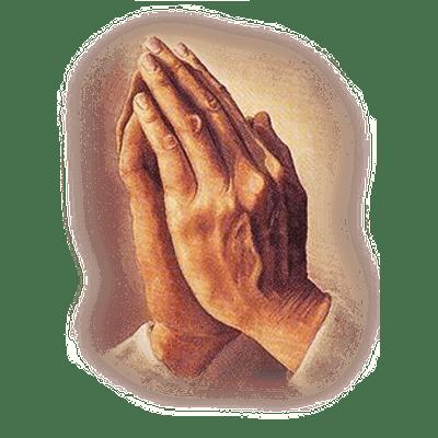Hands Praying Vintage