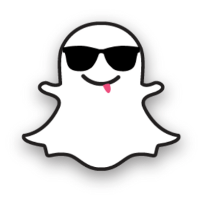 graphic regarding Printable Snapchat Logo identified as Snapchat Ghost Determine clear PNG - StickPNG