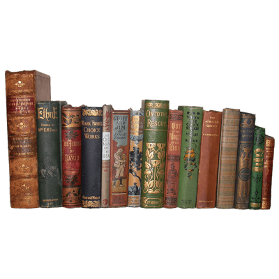 Collection Of Old Books Transparent PNG StickPNG