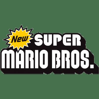 New Super Mario Bros Logo Transparent Png Stickpng