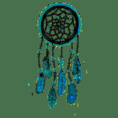 Dream Catcher Blue Transparent Png Stickpng