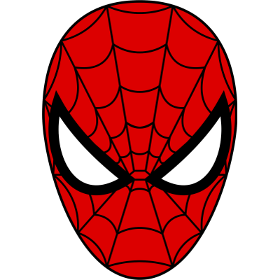 Spiderman mask transparent png stickpng - Tete de spiderman a imprimer ...
