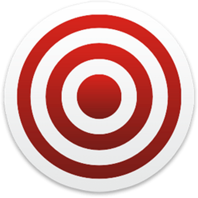 Red White Target Transparent PNG