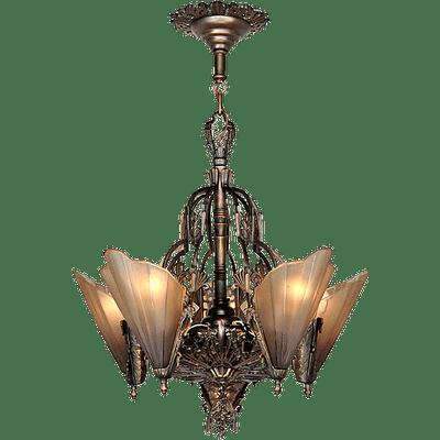 Vintage Chandelier Transparent PNG