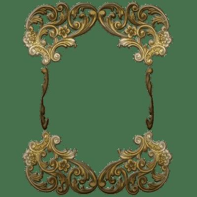 Victorian Golden Ornate Frame Transparent Png Stickpng