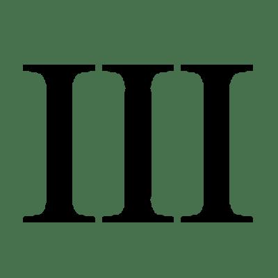 Roman Numeral 3 Transparent Png Stickpng