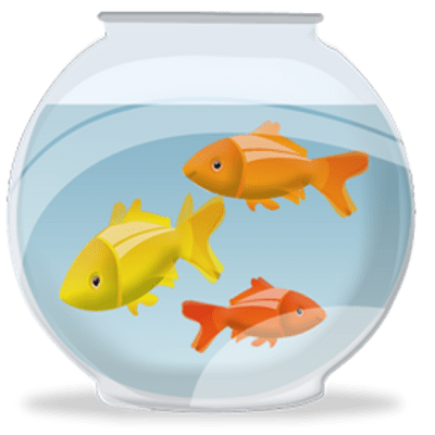 Fish bowl with fish transparent png stickpng for Fish bowl pictures