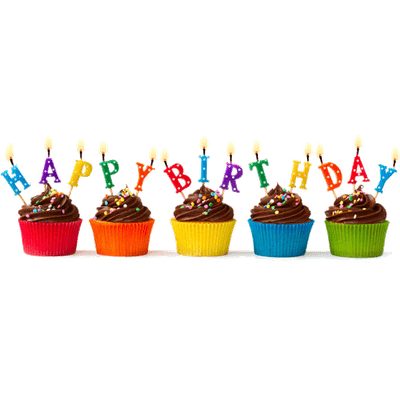 Birthdays Transparent PNG Images