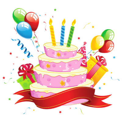 Happy Birthday Party Cake