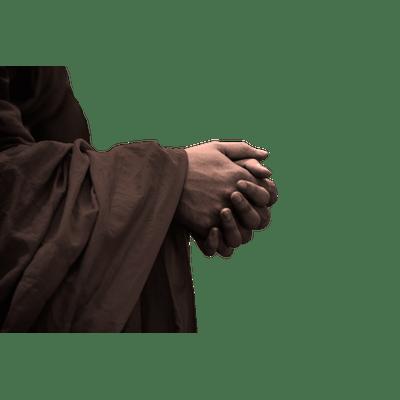 Praying Hands transparent PNG - StickPNG