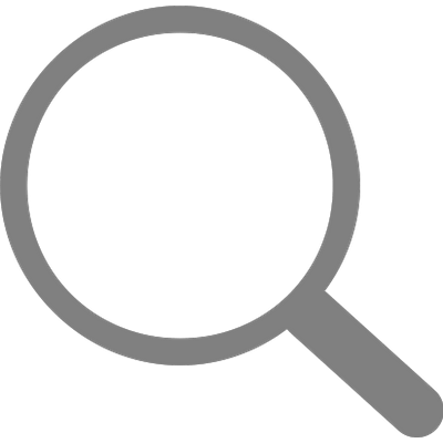 Simple Grey Search Icon transparent PNG - StickPNG