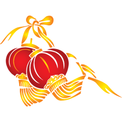 Chinese New Year Lanterns Transparent Png Stickpng