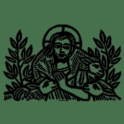 jesus transparent png images stickpng Clip Art Jesus Heals the Lepper's Jesus Is the Gate
