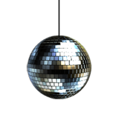Small Hanging Disco Ball