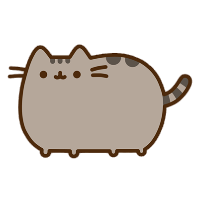 Pusheen Cat Transparent PNG