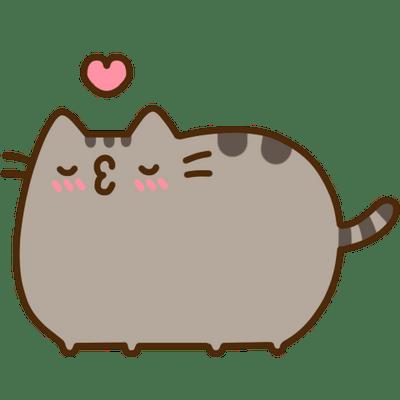 pusheen cat transparent png stickpng