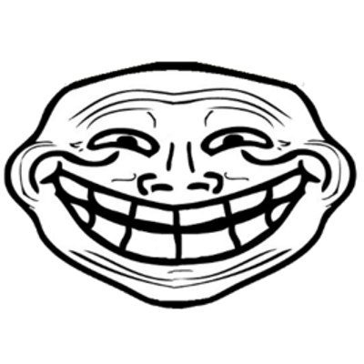 Troll Large Smile transparent PNG - StickPNG