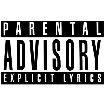 Parental Advisory Explicit Content transparent PNG - StickPNG
