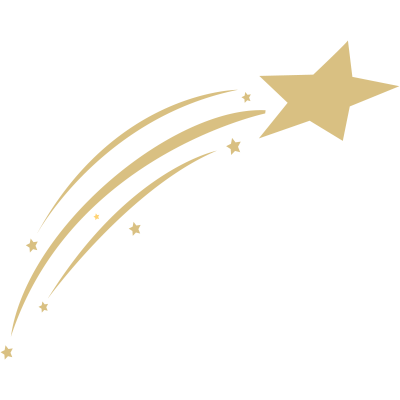 gold shooting star transparent png stickpng Gold Flowers Background Clipart Star Clip Art No Background
