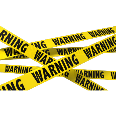 Under Construction Tape Background Caution Tape transpare...