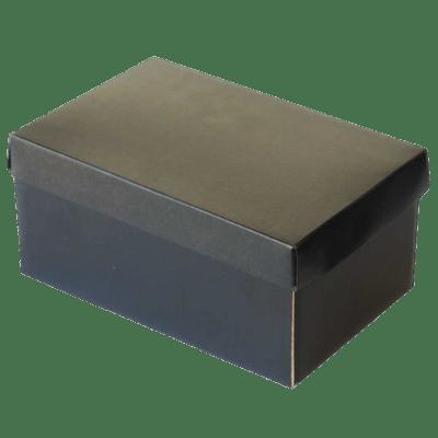 Black Shoe Box transparent PNG - StickPNG