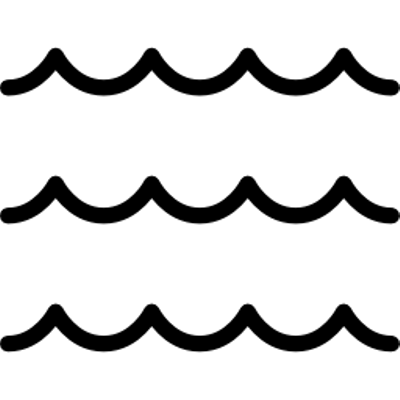Black Wave Lines transparent PNG - StickPNG