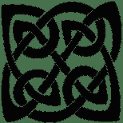 Square Celtic Knot