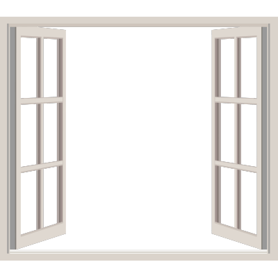 Classic open window transparent png stickpng for Fenster 400x400