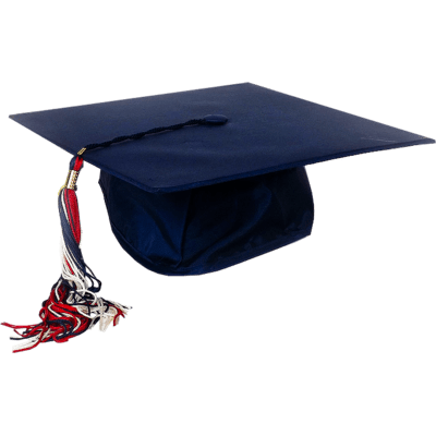 blue graduation cap transparent png stickpng
