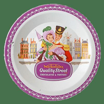 Quality Street Chocolate Vintage Tin